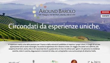 Sito web Around Barolo