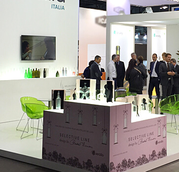 Exhibition stand design Verallia SIMEI